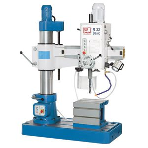 vertical drilling and tapping machine / column type / radial