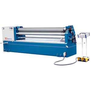 3-roller plate bending machine / electric / conical