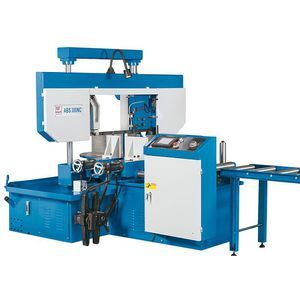 band sawing machine / miter / for metals / automatic