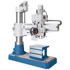 radial drilling machine / vertical / compact / variable speed
