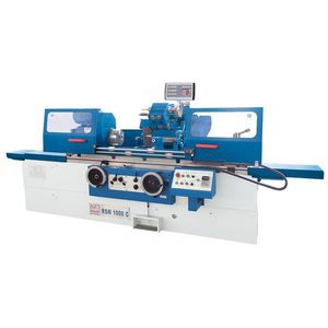 cylindrical grinding machine / workpiece / for shafts / high-precision