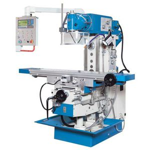 3-axis milling machine / swiveling-spindle / vertical / horizontal