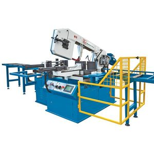 band sawing machine / for metals / fully-automatic / hydraulic