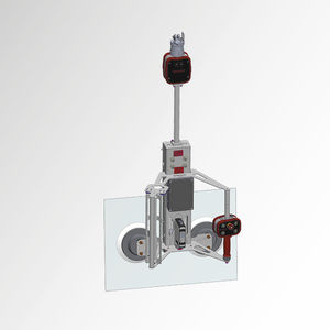 glass plate lifting clamp