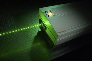 nanosecond laser / solid-state / compact / high-energy