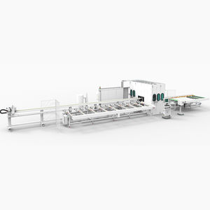 aluminum cutting line / rotary blade / profile / CNC