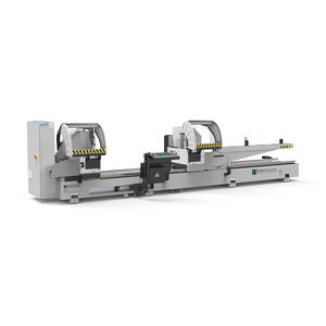 aluminum double-head miter saw