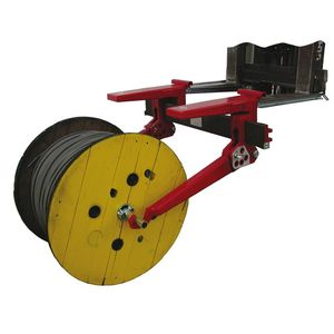 coil loading arm