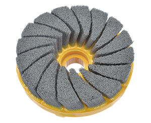deburring brush / disc / finishing / ceramic fiber