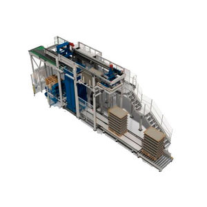 layer depalletizer / for glass containers / for the food and beverage industry / for empty cans