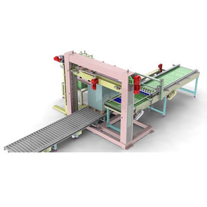 low level infeed depalletizer / for glass containers / for the food and beverage industry / for empty cans