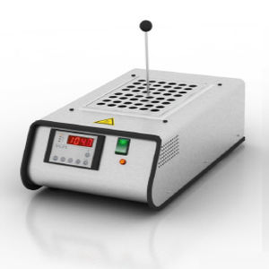 laboratory test tube dry block heater / with thermostat