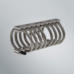 ledge anti-vibration mount / steel / stainless steel / electronic equipment