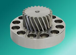 bevel gear / helical / flange