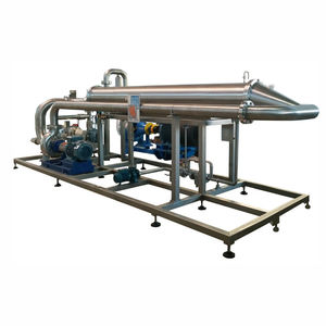 tubular heat exchanger / high-speed / for the food industry