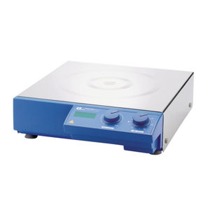 magnetic laboratory shaker / digital / for beakers / hot plate