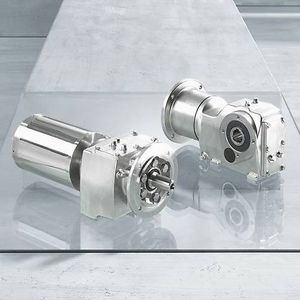 stainless steel gearmotor / bevel / helical / parallel-shaft