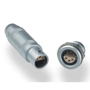 data connector / coaxial / triaxial / push-pull