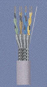 CAT 5 electrical cable / power / twisted pair / CAT 7