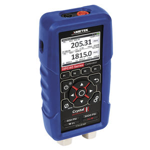 pressure calibrator / temperature / multifunction / voltage