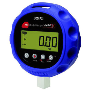 pressure gauge with LCD display / electronic / for HVAC / for gas