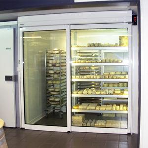 sliding doors / aluminum / industrial / indoor