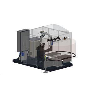 robotic arc welding cell