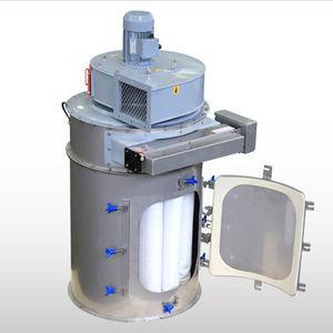 pocket filter housing / for compressed air