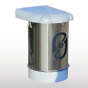 pressure filtration unit / dust / stainless steel