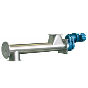 screw feeder / motorized / food / for plastics