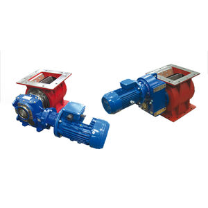 wood pellet rotary valve