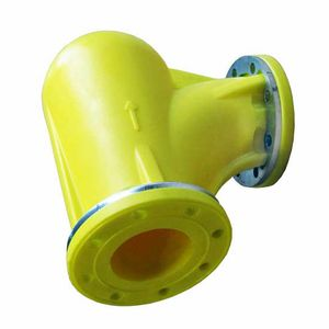 polymer pipe elbow