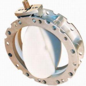 butterfly valve / electric / shut-off / aluminum