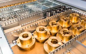 metal boring machining / for aeronautics / medium series / small series