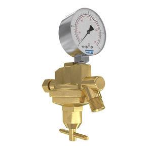 oxygen pressure regulator / for acetylene / single-stage / spring
