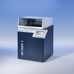 fluorescence spectrometer / wavelength dispersion X-ray / for analysis / compact