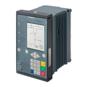 distance protection relay / power / pulse / digital
