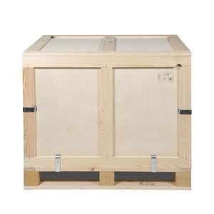 reusable pallet box / plywood / transport / folding