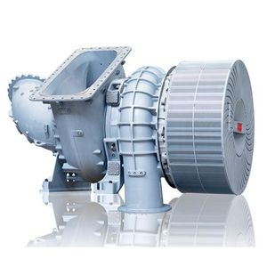 compact turbocharger / single-stage / two-stroke engine / for diesel engines