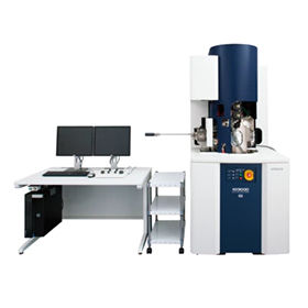 analysis microscope / scanning electron with focused ion probe / 3D / real-time