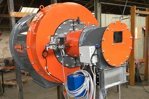 gas burner / monobloc / excess air