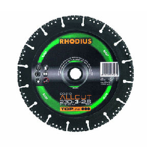 steel cutting disc / for stone / diamond-coated
