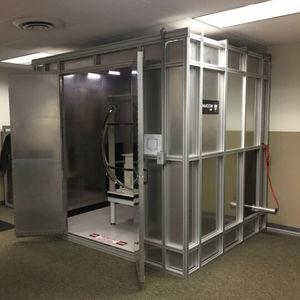 radiation test chamber