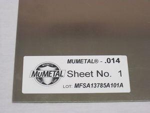 EMI shielding sheet / metal