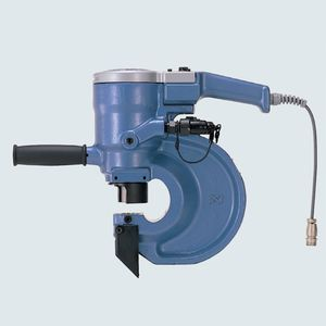 manual punching unit / hydraulic / for metal sheets / portable