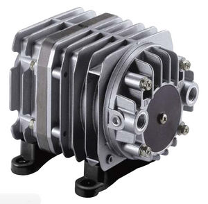linear piston vacuum pump / oil-free / single-stage / compact