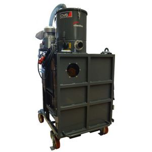 dry vacuum cleaner / three-phase / foundry / for the metallurgical industry