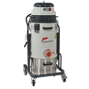 dry vacuum cleaner / single-phase / for the food industry / for the chemical industry