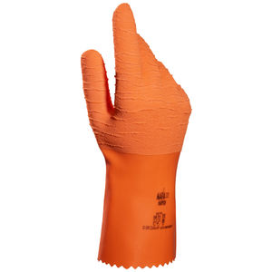 handling gloves / insulated / latex / for the food industry