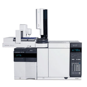 gas chromatograph / chemical / laboratory / coupled to a mass spectrometer